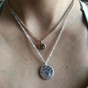 Delicate two layer necklace